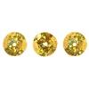 Sequins Round 10mm Aprx 450pcs Hologram Gold